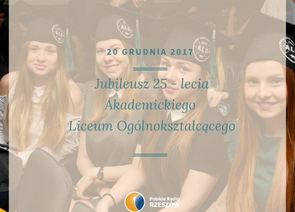 O Akademickim Liceum Ogólnokształcącym na falach Polskiego Radia Rzeszów
