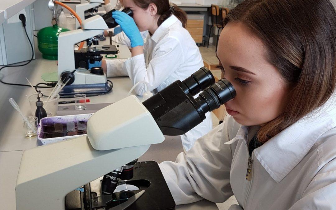 Nietypowe zajęcia z biologii medycznej