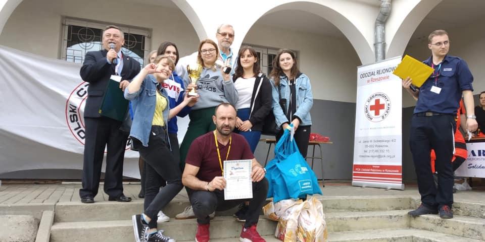 II miejsce w rejonie w Ogólnopolskich Mistrzostwach Pierwszej Pomocy
