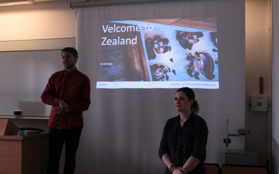 Spotkanie z przedstawicielami uczelni z Danii
