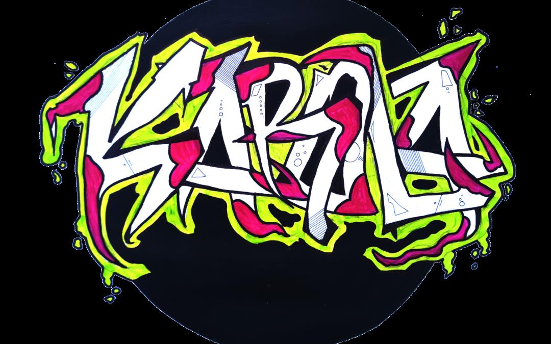 Graffiti uczniów ALO