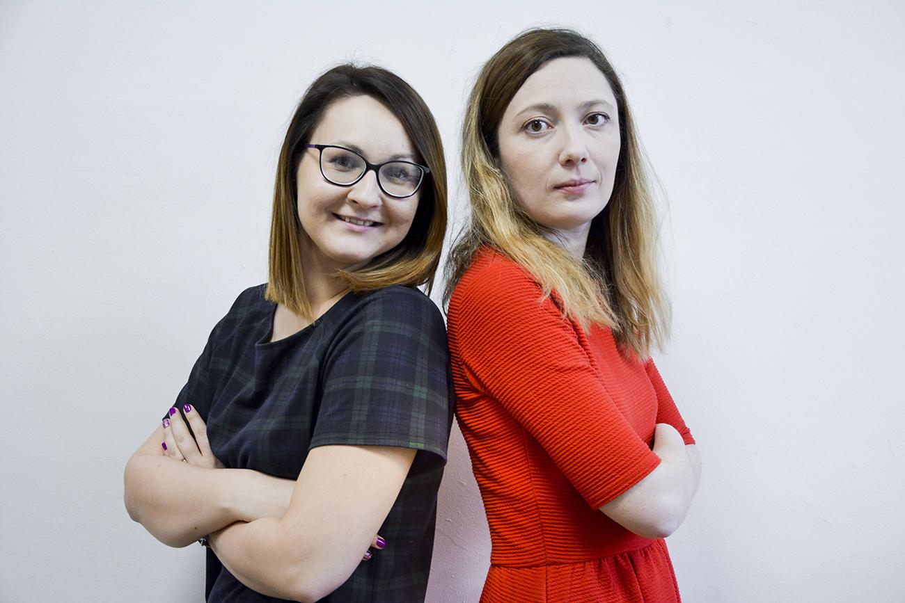 dr Agnieszka Kusz i mgr Anna Krawczyk